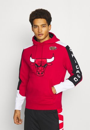 NBA CHICAGO BULLS FUSION HOODY - Club wear - red scarlet