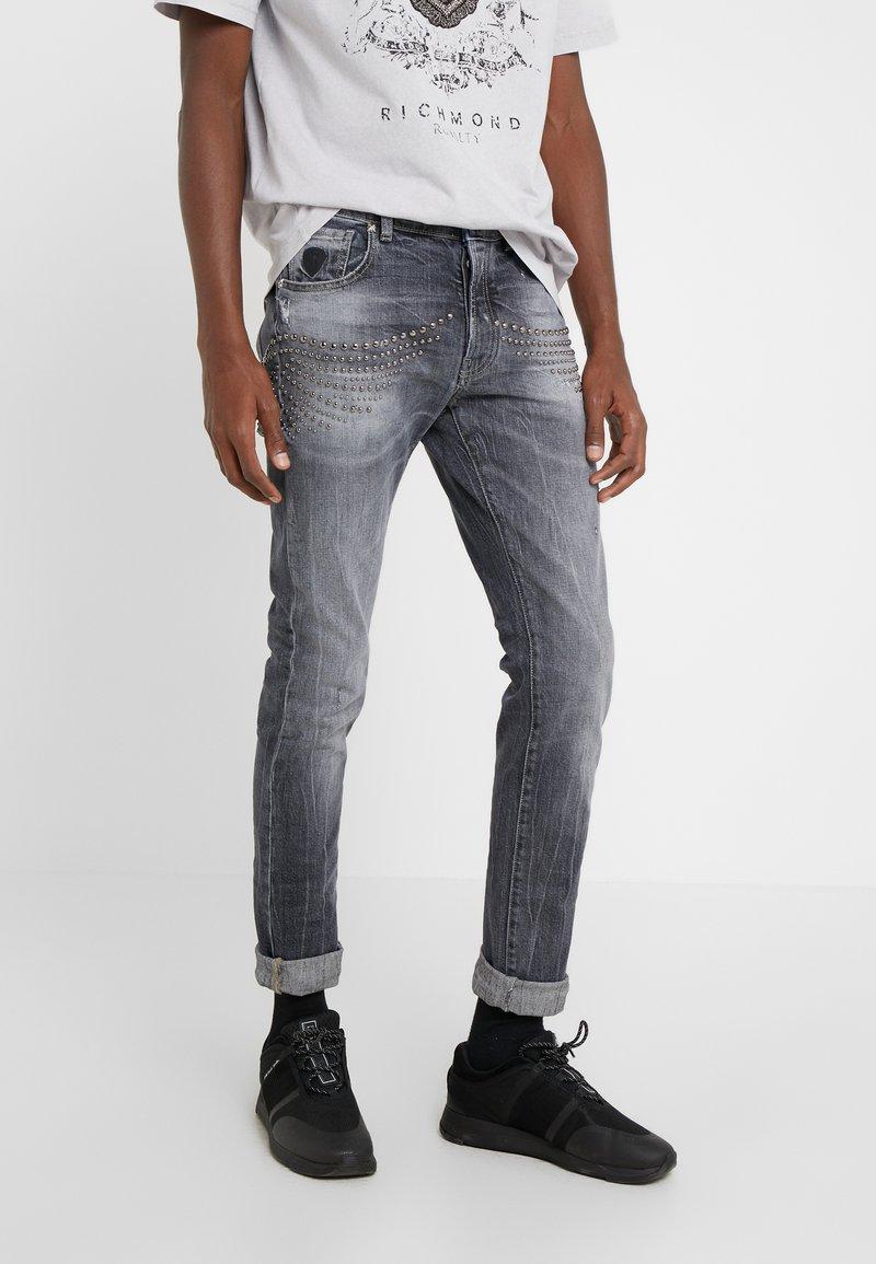 John Richmond - CLAUDIUS - Slim fit jeans - grey denim