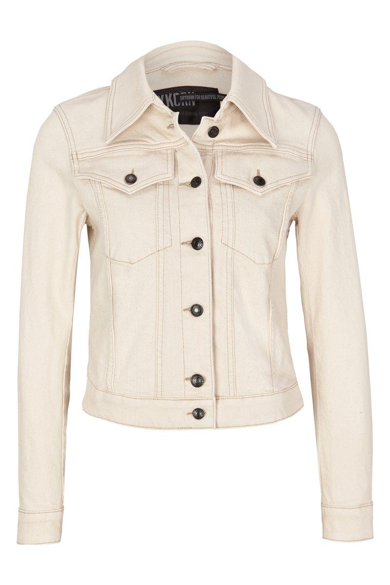 DRYKORN - SOMERTON - Denim jacket - off white