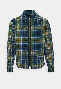 Converse - ALL OVER UTILITY ZIP FRONT SHIRT UNISEX - Summer jacket - tartan - 4