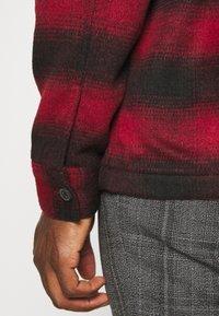 AllSaints - BETHUNE  - Shirt - red/black - 5