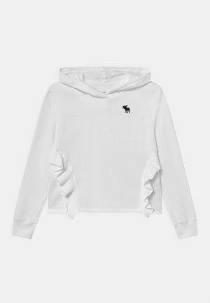 LITE RUFFLE  - Sweatshirt - white