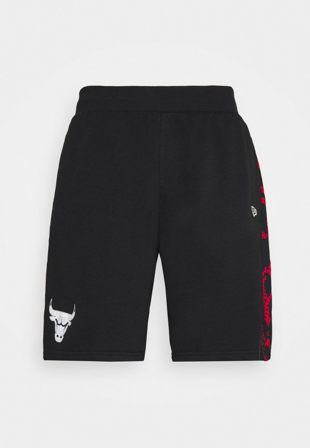 CHICAGO BULLS NBA PRINT PANEL SHORT - Klubbkläder - black