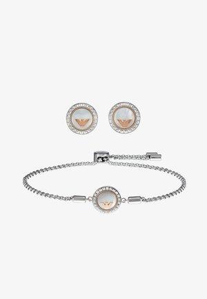 SET - Boucles d'oreilles - silver-coloured