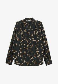 Violeta by Mango - LAURAP - Button-down blouse - schwarz - 4