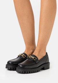 ASRA - FREYA - Slippers - black - 0
