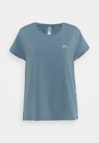 ONPAUBREE LOOSE TRAINING TEE OPUS - Camiseta básica - goblin blue