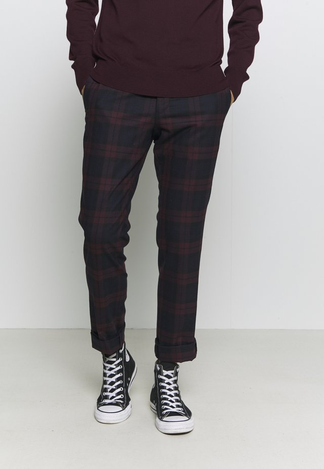 GINGER TROUSER - Trousers - bordeaux