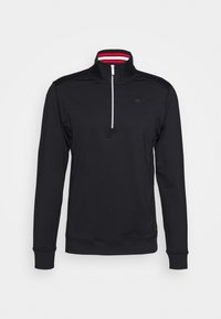 Calvin Klein Golf - ORBIT HALF ZIP - Top sdlouhým rukávem - black/red - 4