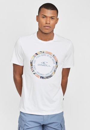 MAKENA - T-Shirt print - white
