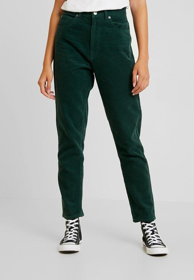 NORA - Trousers - deep green