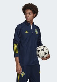 adidas Performance - SWEDEN SVFF TRAINING SHIRT - Koszulka reprezentacji - blue - 4