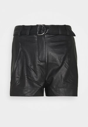 AVA SHORTS - Kraťasy - black