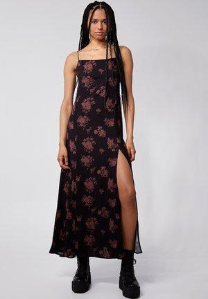 Korte jurk - black mahogany