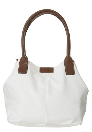 MIRIPU - Handbag - white/camel