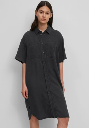 Denim dress - multi/washed black