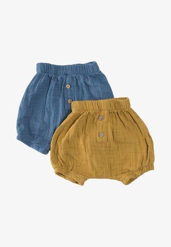 2 PACK - Shorts - mustard yellow