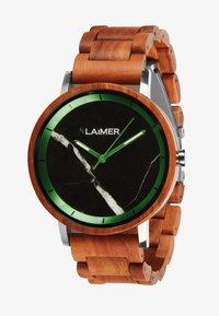 LAIMER - LUCA - Watch - silber/braun - 1