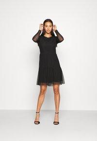 JDY - JDYDIXIE LAYER DRESS - Day dress - black - 1