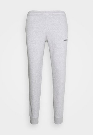 ITZAL PANTS - Tracksuit bottoms - heather grey/antracite