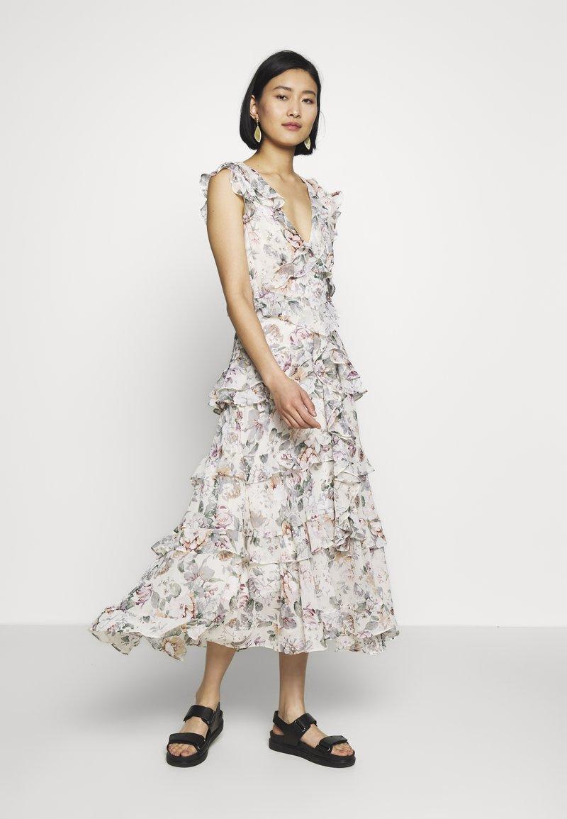 NELLY FLORAL DRESS - Freizeitkleid - ivory