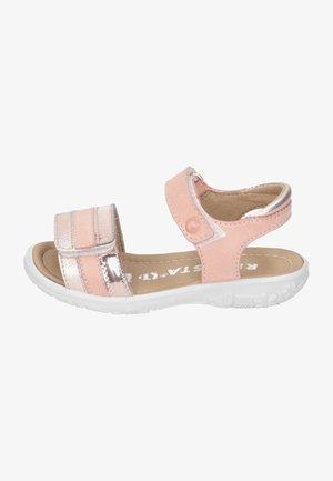 Sandals - peach/bronce