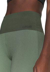 Casall - SEAMLESS - Tights - northern green - 3