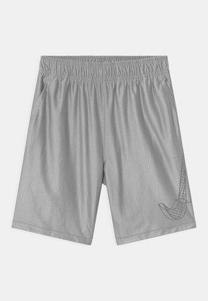 DRY - Pantaloncini sportivi - light smoke grey/white