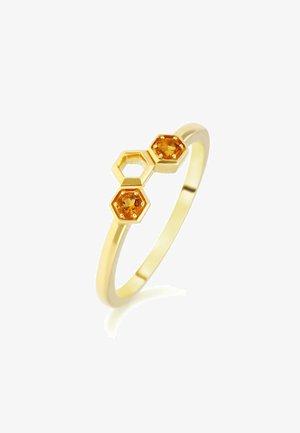 CITRINE  - Ring - orange