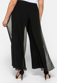 Sheego - Trousers - black - 2