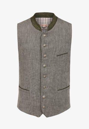 DIEGO - Waistcoat - grey