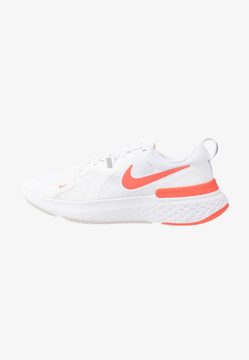 Nike Performance - REACT MILER - Neutral running shoes - white/pink glow/photon dust