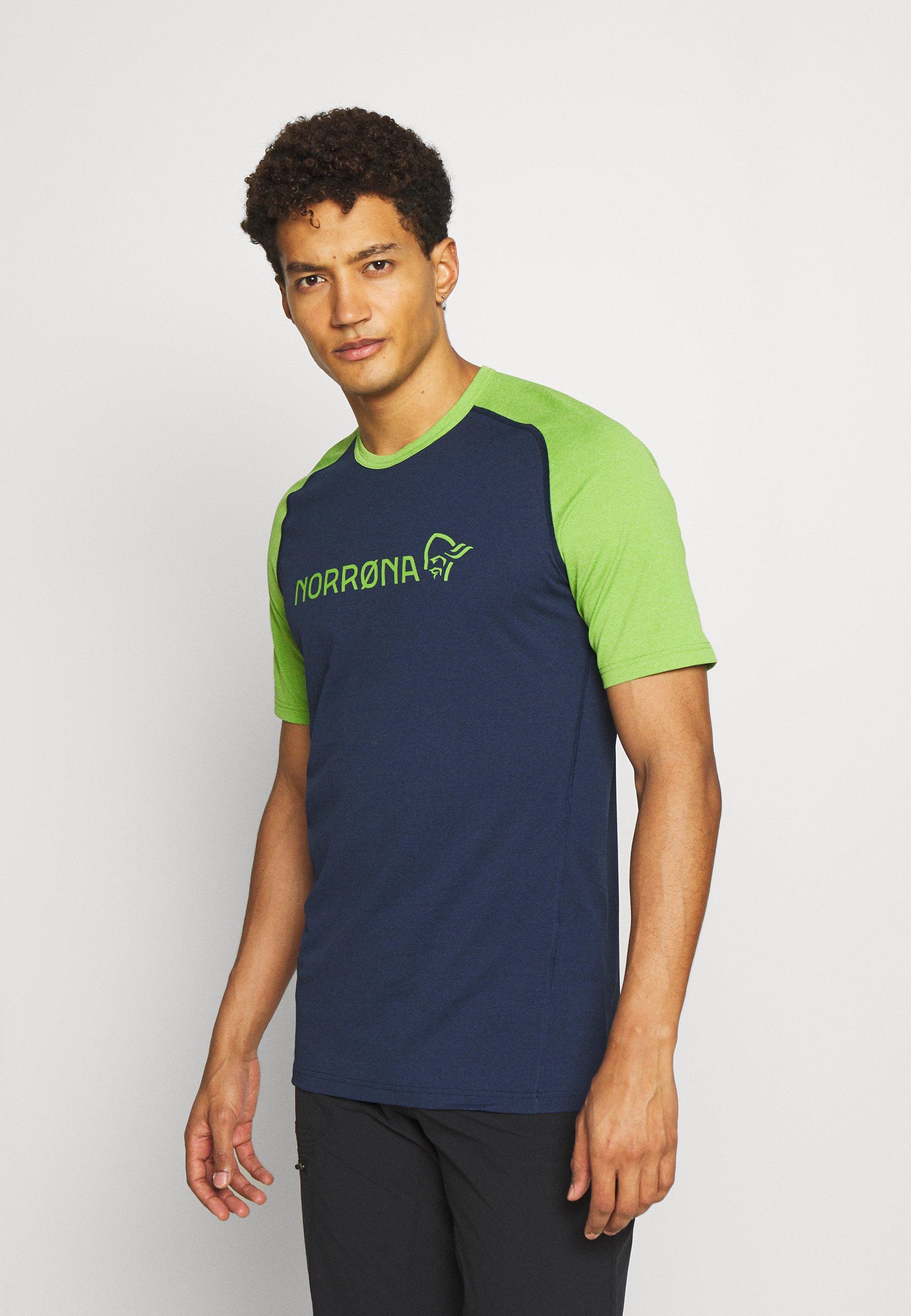 Men FJØRÅ EQUALISER LIGHTWEIGHT - Print T-shirt