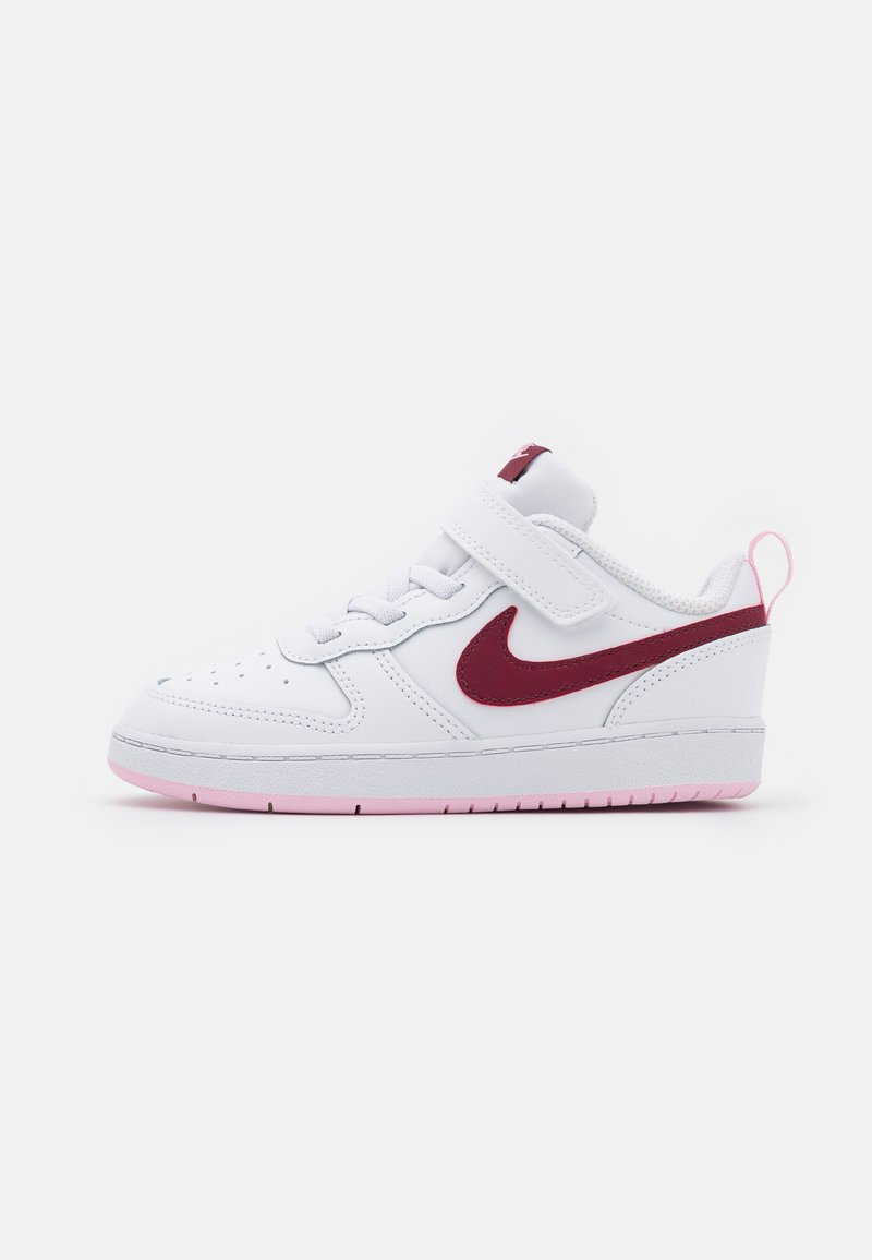 Nike Sportswear - COURT BOROUGH 2  - Baskets basses - white/dark beetroot