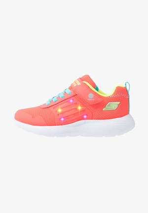 DYNA LIGHTS - Tenisky - neon coral/multicolor