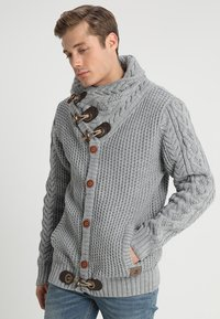 INDICODE JEANS - STONE - Jumper - light grey mix - 0
