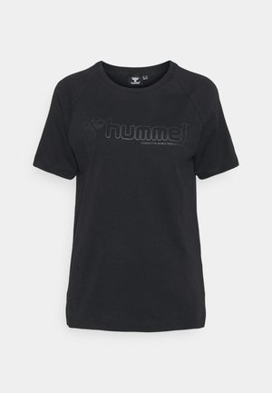 HMLZENIA  - Camiseta estampada - black