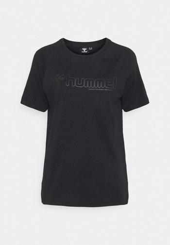 HMLZENIA  - Print T-shirt - black