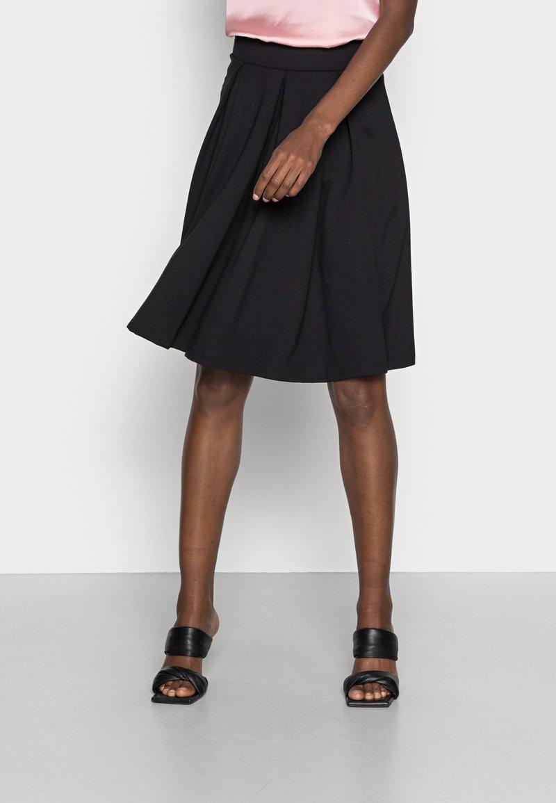 Anna Field - Áčková sukně - black