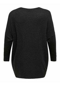 ONLY Carmakoma - CARCARMA LONG - Long sleeved top - dark grey melange - 1