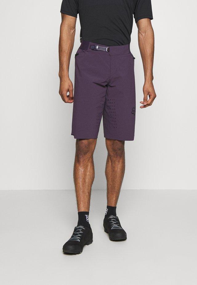 FLEXAIR SHORT NO LINER - Krótkie spodenki sportowe - dark purple