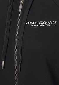 Armani Exchange - FELPA - Zip-up hoodie - black - 2