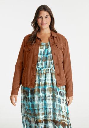 Summer jacket - mocca brown