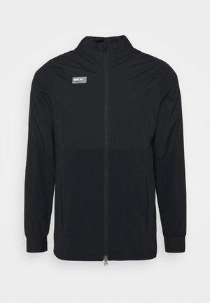 Training jacket - black/black/white/clear