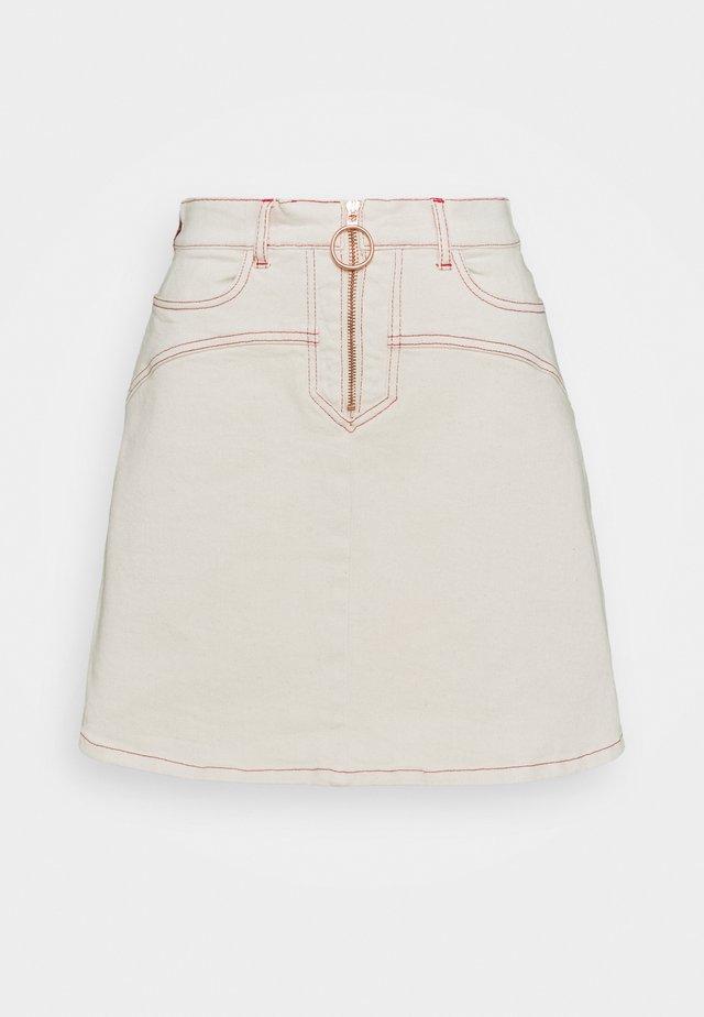 Minifalda - buttercream