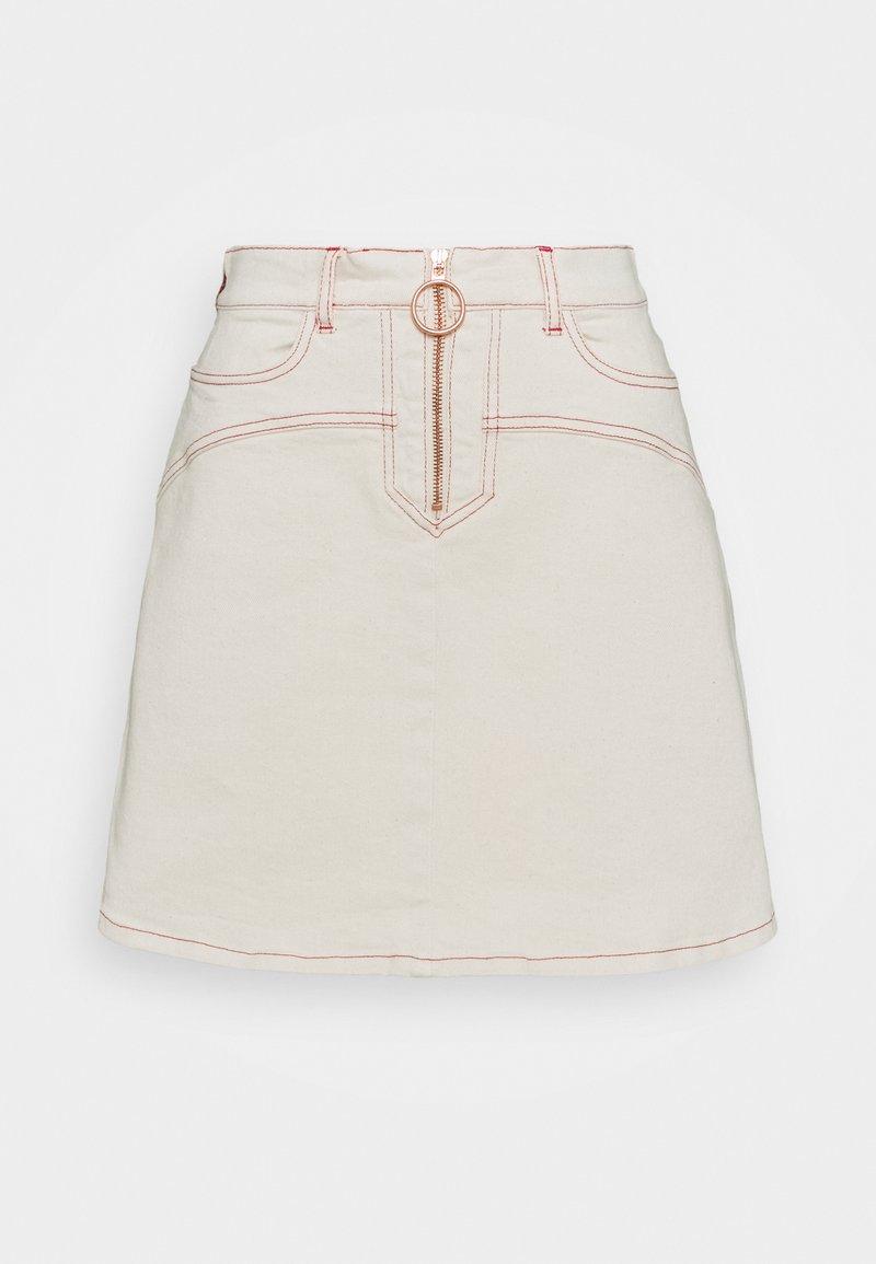 See by Chloé - Mini skirt - buttercream