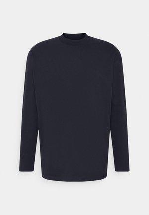 HIGH COLLAR - T-shirt à manches longues - sky captain blue