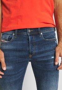 Diesel - SLEENKER-X - Slim fit jeans - blue denim - 3