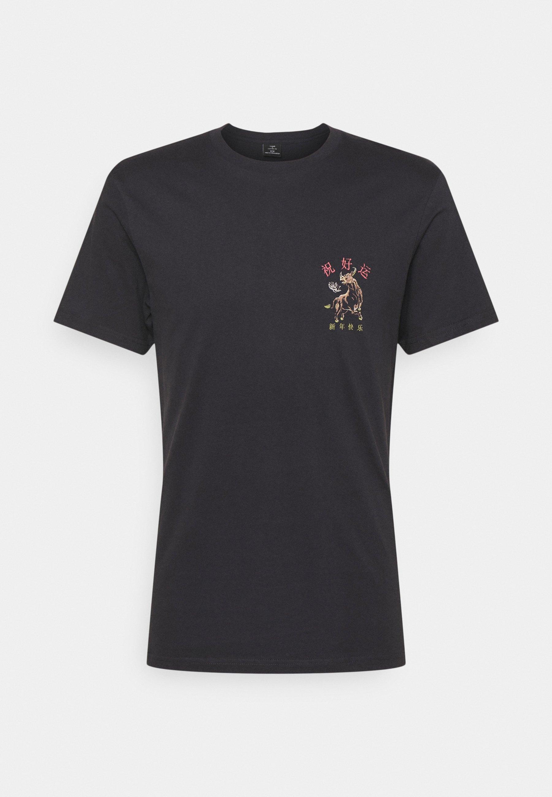 Men Print T-shirt - ink navy