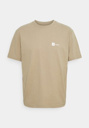 DYLAN - T-shirt med print - beige